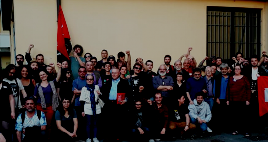 confederation founding in Parma group picture