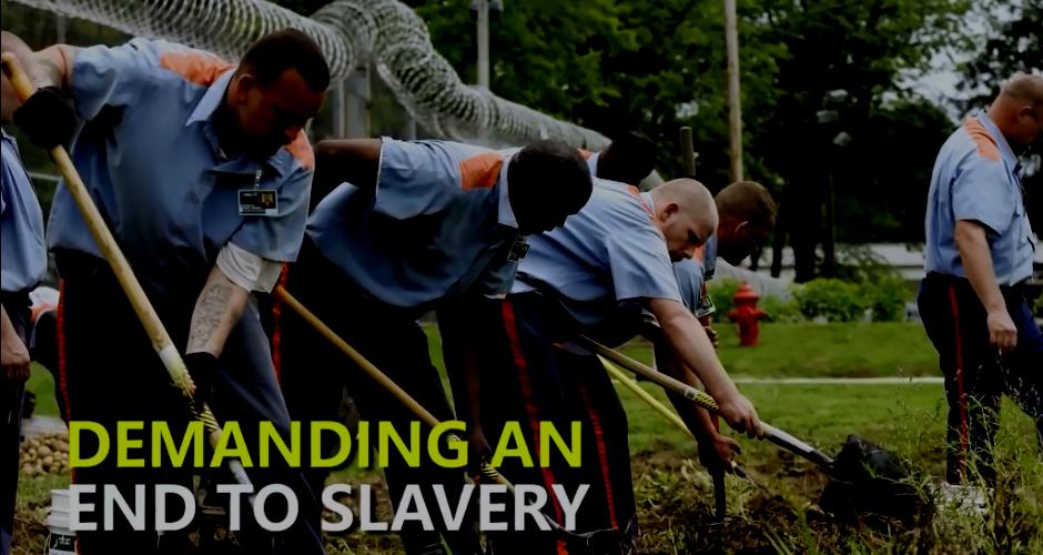 prison slavery in USA