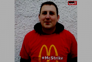fast food strike uk