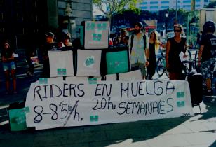 Transparent: Piders an huelga 20 horas semanales